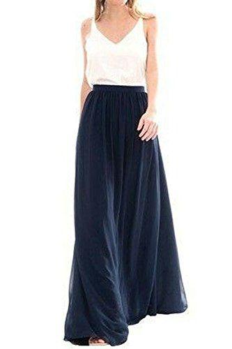 f90e59875bb9 Omelas Womens Long Floor Length Tulle Skirt High Waisted ... https://