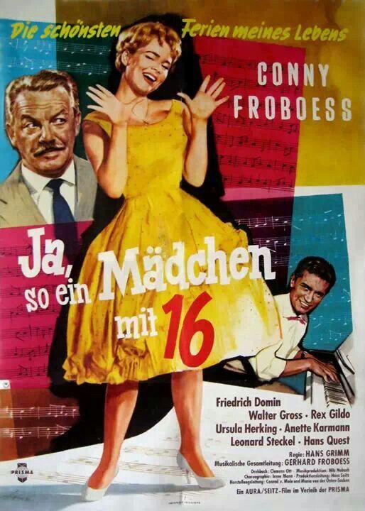 Vintage German film posters