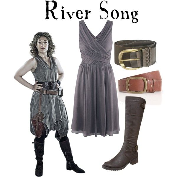 """""""River Song"""" by companionclothes on Polyvore Kirpy be River for Halloween it would be grand!"""