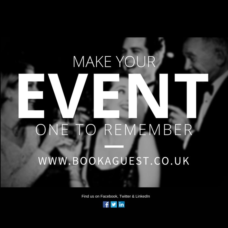 Now is the time to start booking personalities for your winter celebrations! www.bookaguest.co.uk #events #sport
