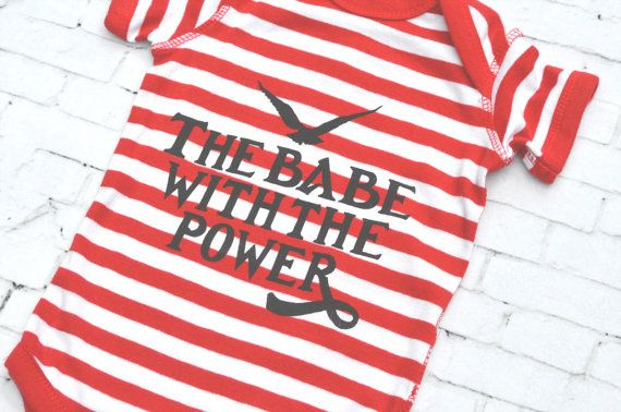 Hey, I found this really awesome Etsy listing at https://www.etsy.com/listing/291511747/the-babe-with-the-power-labyrinth-onesie