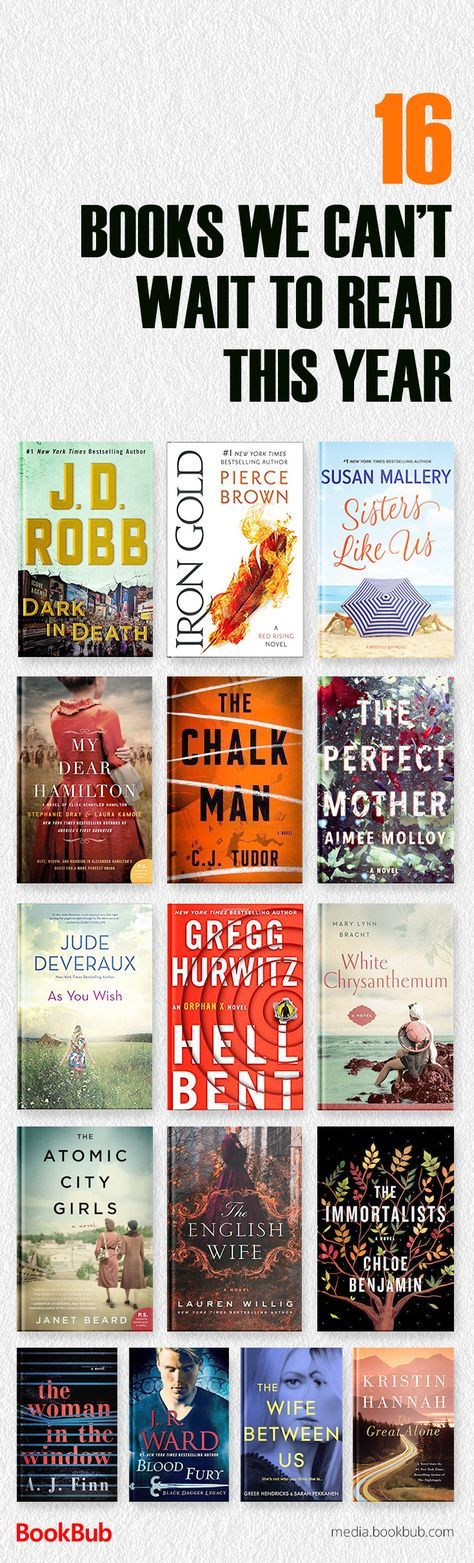 16 books to read in 2018 and add to your reading list, including great books for women, bestselling fiction, inspirational books, and more.