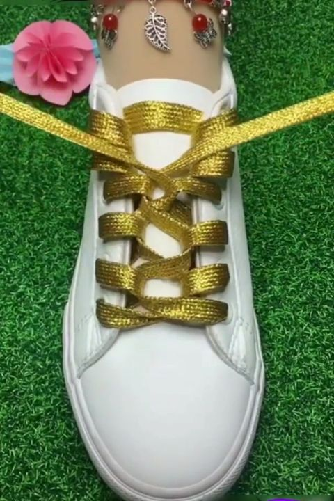 Incredible Shoe Lacing 😍
