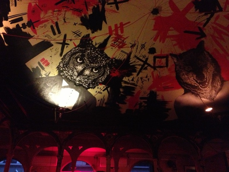 Ceiling @ Meat Liquor, Marylebone