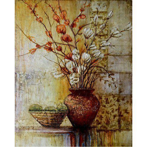 'Abstract Arrangements Iii' Original Hand-painted Wall Art