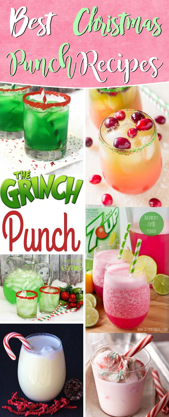 20 Christmas Punch Ideas Refreshing The Guests With Sparkles, Tangs and Fizzy Goodness #christmas #punch #recipe #drinks