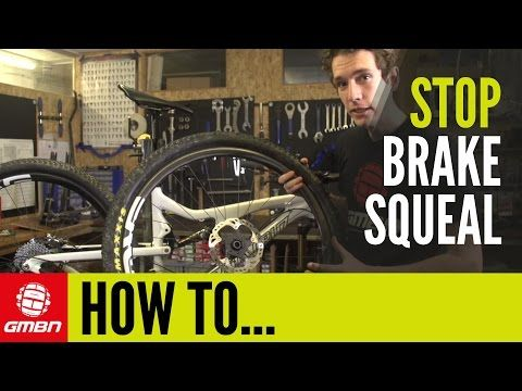 How To Stop Your Disc Brakes Squealing - Mountain Bike Maintenance Tips - YouTube