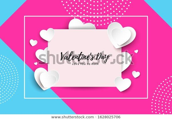 Vector Valentines Day Cards Templates เวกเตอร สต อก ปลอดค าล ขส ทธ 1628025706 ภาพประกอบ