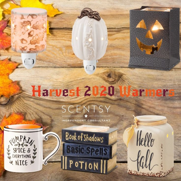 Harvest 2020 Warmers in 2020 Scentsy, Scentsy party