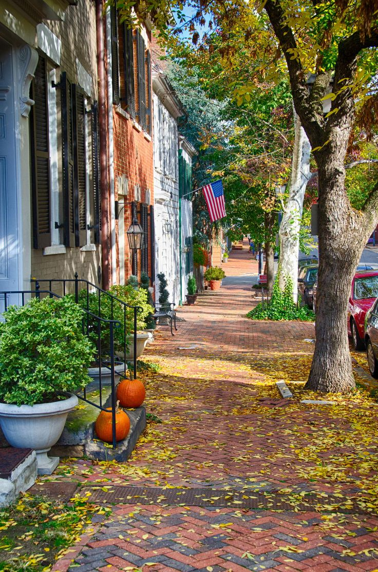 Fall Day Old Town Alexandria Virginia by Rick Herman on 500px