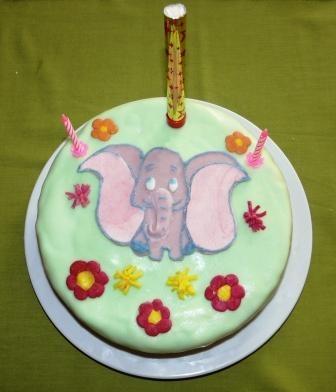 Dumbo - Dorka szülinapi tortája / Dumbo - Dorka's birthday cake