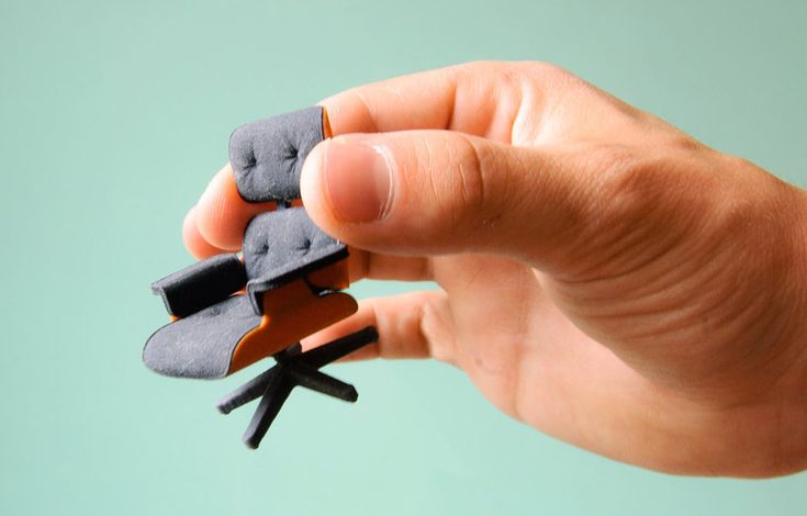 design printed eames chair  3D Printed Version of the Iconic Eames Chair Priced $25