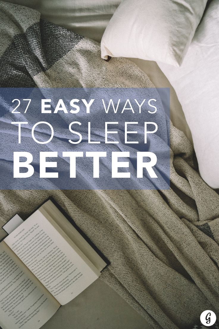 Approximately 70 million Americans are affected by symptoms of insomnia. Can't sleep? You're not alone. Here's 27 easy ways to sleep better tonight