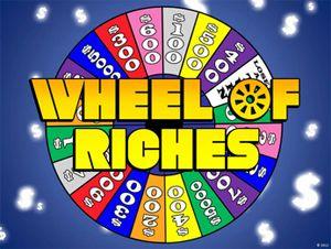 ellen show wheel of riches powerpoint