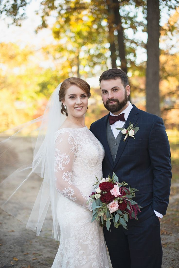 A Clically Fall Wedding In Historic Church
