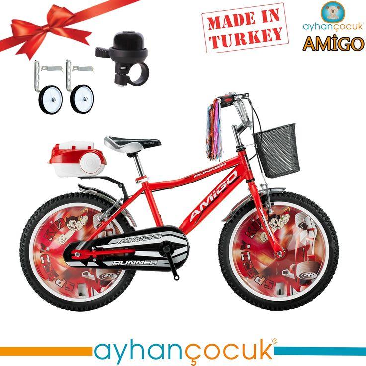 Amigo 20 Jant Bisiklet 6-9 Yaş Erkek Çocuk Bisikleti - Ayhan Çocuk   Anne ve Bebek Ürünleri Mağazası - Kampanyalar