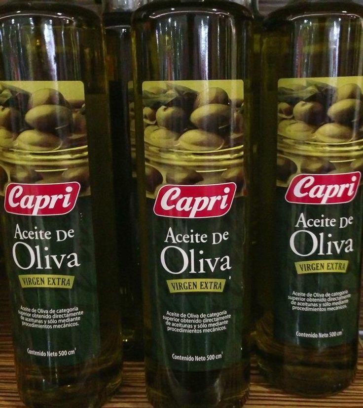 Aceite de Oliva Capri: ideal para tus carpaccios.