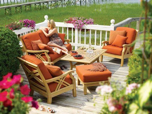 Teak Patio Furniture At Spring Valley Patio | Washington DC