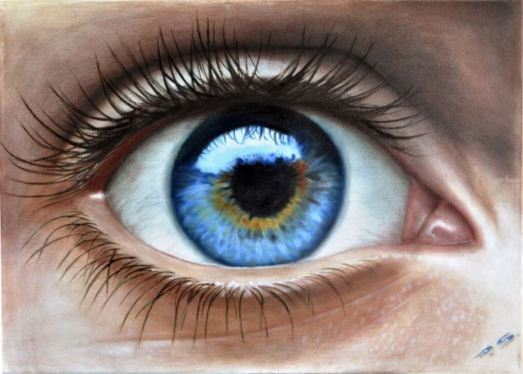 Human Eye In 3d Painted By Stefan Pabst Artist