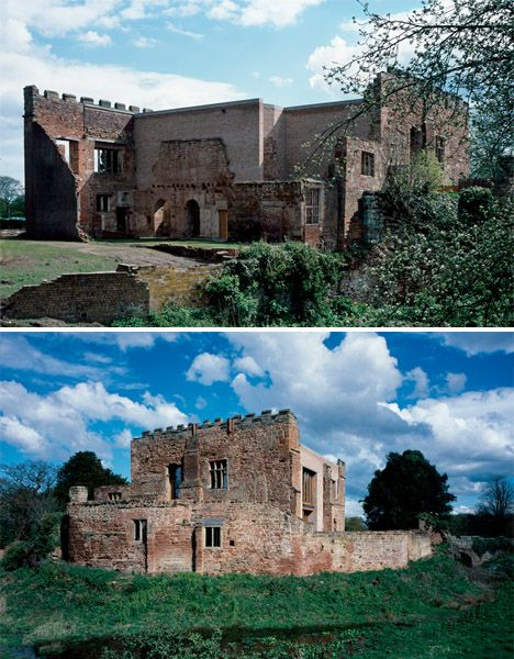 Contemporary House Inserted into Crumbling Castle Ruins