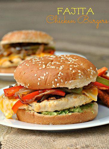 Fajita Chicken Burger 1 by preventionrd, via Flickr