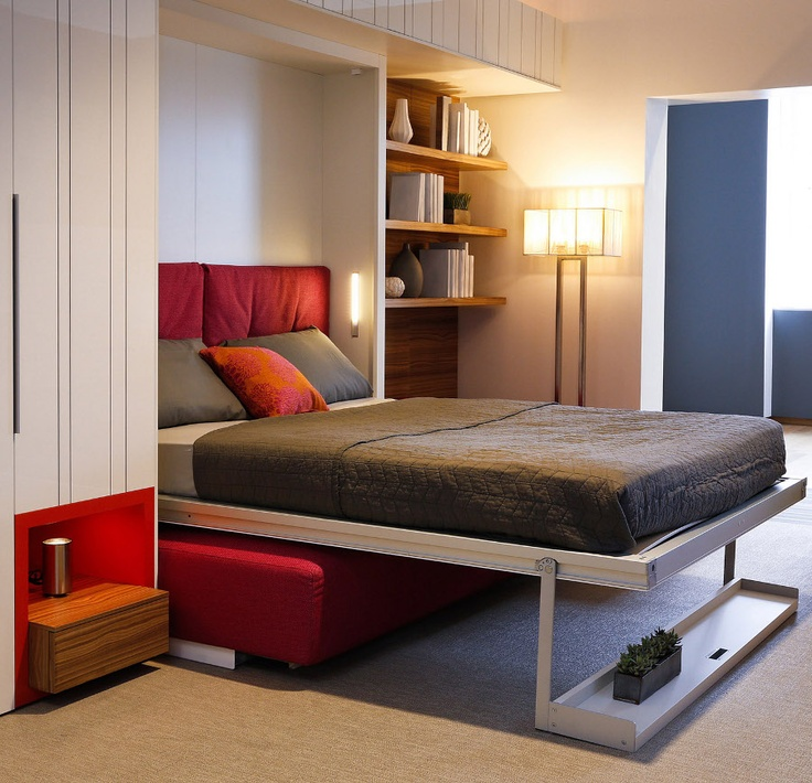 Studio Apartment Murphy Bed 26 best wall bed images on pinterest | wall beds, 3/4 beds and