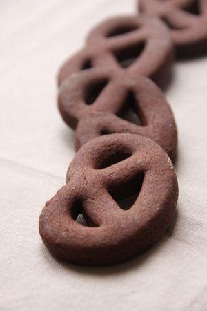 Bretzel au chocolat - testé et approuvé <3