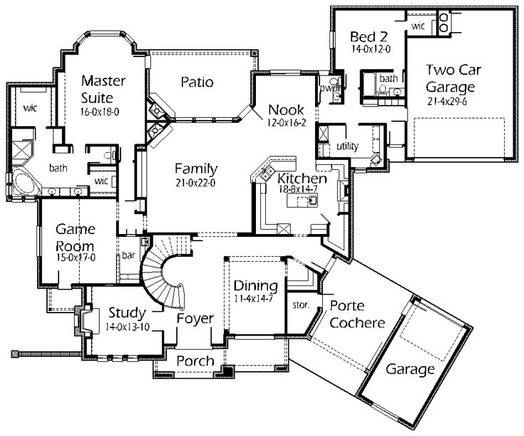 House Plans Home Design And House On Pinterest