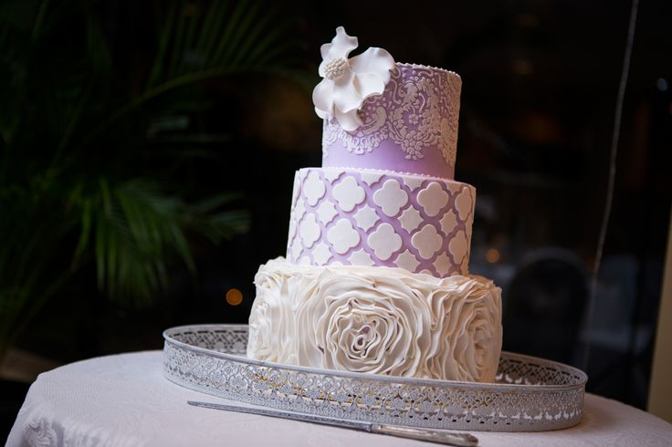 Pastel Purple cutout wedding cake - Salt Studios| Toowoomba Wedding and Commercial Photography