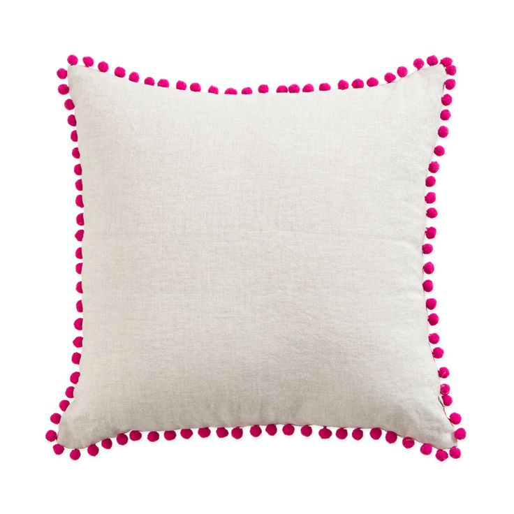 Give any room a touch of Aztec with our Pom Pom Cushions by Muse and Mix & Match the Colours. - Pillow Talk
