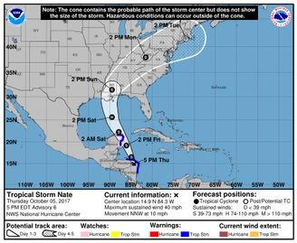 Tropical Storm Nate: Gov. John Bel Edwards expects 'direct hit' in Louisiana | NOLA.com