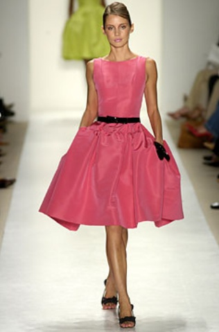 oscar de la renta dress - I fell in love with it when I saw Carrie in it on Sex in the City.  I so would have worn this in the '80's.
