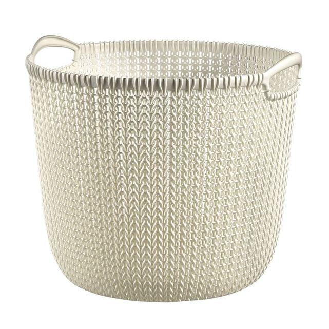 Panier de rangement Curver Knit 30 L | Caisson de rangement