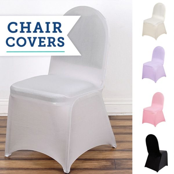 Awe Inspiring Dress Up Your Event With Hassle Free Spandex Chair Covers Lamtechconsult Wood Chair Design Ideas Lamtechconsultcom