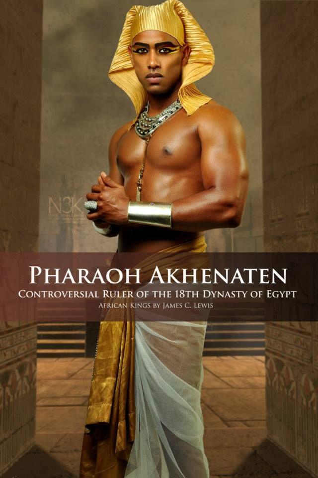 "Pharaoh Akhenaten meaning ""Effective for Aten"" frican kings great (3)"