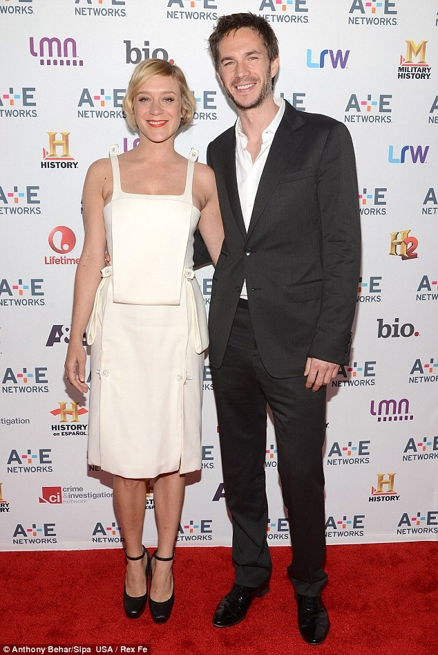 """Daily Mail: """"Stylish pair: Chloe posed with English actor James D'arcy, who stars with her in new TV series Those Who Kill""""  http://www.dailymail.co.uk/tvshowbiz/article-2321761/Chloe-Sevigny-goes-Gatsby-modern-twist-1920s-fashion-hits-red-carpet.html"""