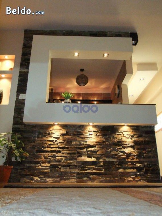 Image Result For مطبخ امريكي مفتوح على الصالة صغيرة Tv Wall Design Entryway Decor Home Decor