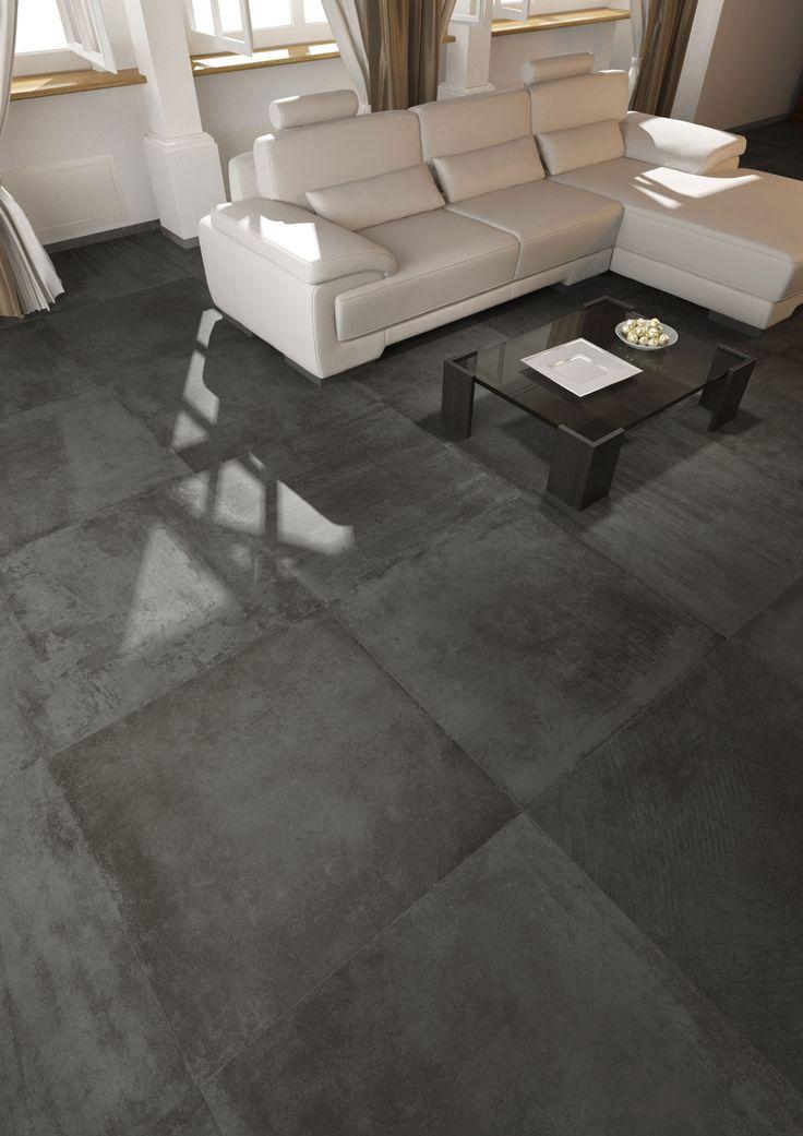 Propone l effetto cemento la collezione upgrade di del - Piastrelle effetto cemento ...