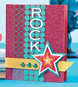 Shimmering Rock Star Card by @Kalyn KepnerCards Stars, Cards Scrapbook, Cards Birthday, Olson, Hambling Cards, Ahs Maz Cards, Crafts Inspiration, Cardmaking Ideas, Cards Crafts
