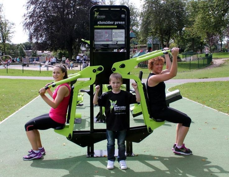 The Lat Pull Down and Shoulder Press should be the centre piece of any TGO…