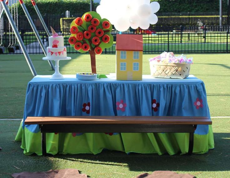 Lila's Lovely Peppa Pig Park Party