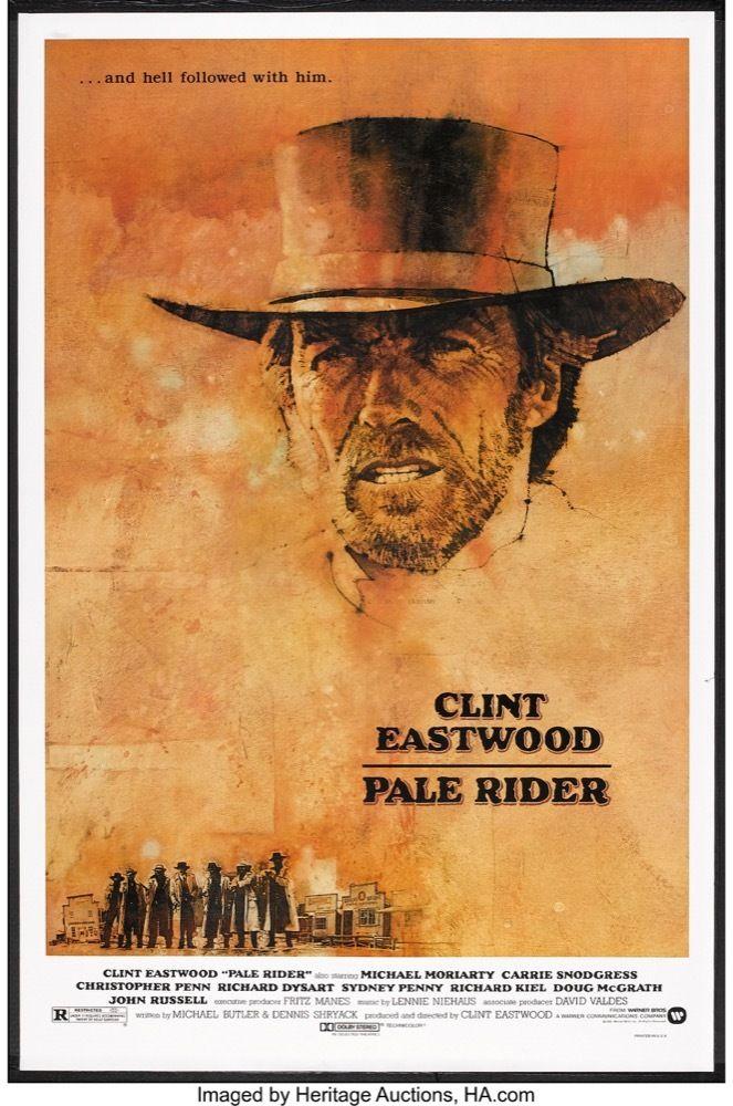 MovieArt Original Film Posters - PALE RIDER (1985) 251, $250.00 (https://www.movieart.com/pale-rider-1985-251/)