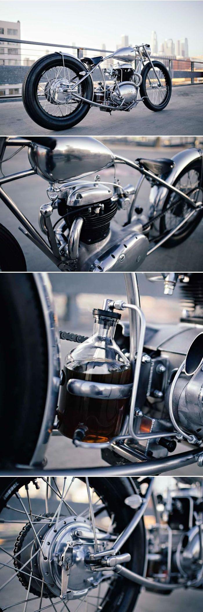 BSA A50 by Hazan Motorworks    http://bikeexif.com/bsa-a50