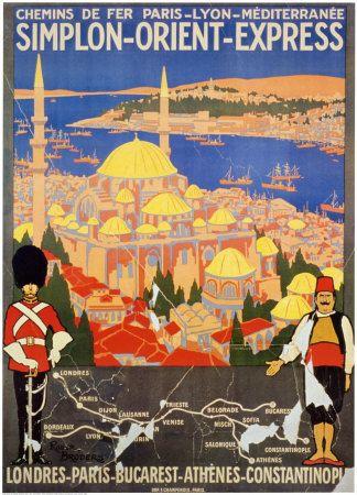 Orient Express - affiche