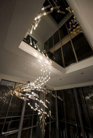 SPATIAL INSTALLATION Flylight by Studio Drift - News - Frameweb