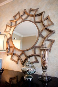 174 best images about decorative wall mirrors on pinterest for Large round mirror for living room