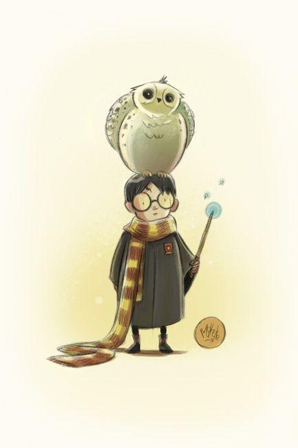 Para todos los fans de Harry Potter aquí les dejo una colección de excelentes ilustraciones de Harry Potter que han publicado en Inspiration Feed,después