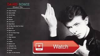 David Bowie Greatest Hits Best Of David Bowie Playlist  David Bowie Greatest Hits Best Of David Bowie Playlist