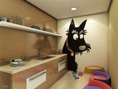 dog grooming salon decor - Buscar con Google