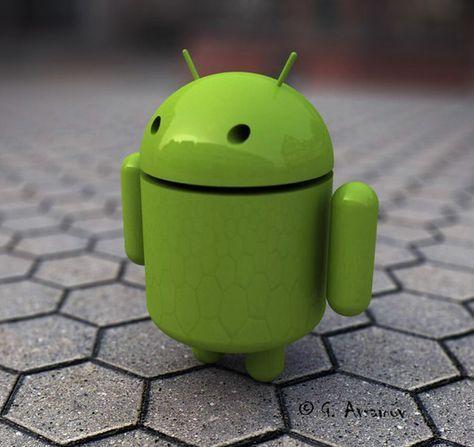 Android Logo 3d By Gabril Avramov Android Central Protetor De Tela E Mascotes